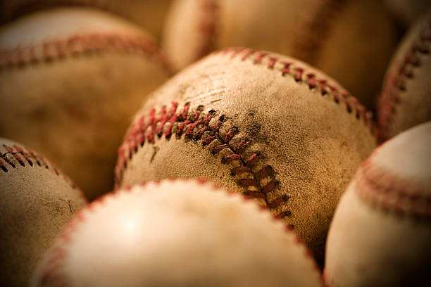 baseballs - spring training stock photos and pictures