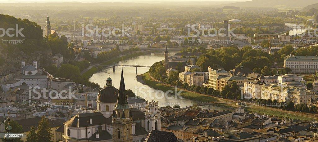 Basel and Rhein stock photo