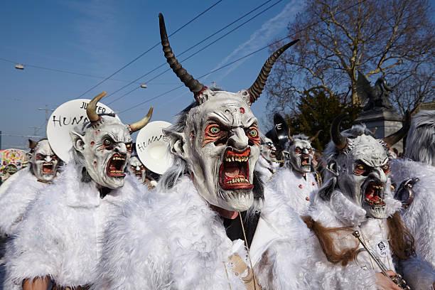Basel (Schweiz)-Karneval 2014 – Foto