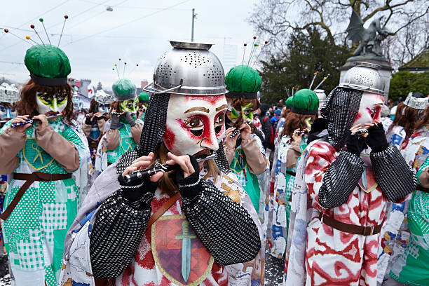 Basel (Schweiz)-Karneval 2015 – Foto
