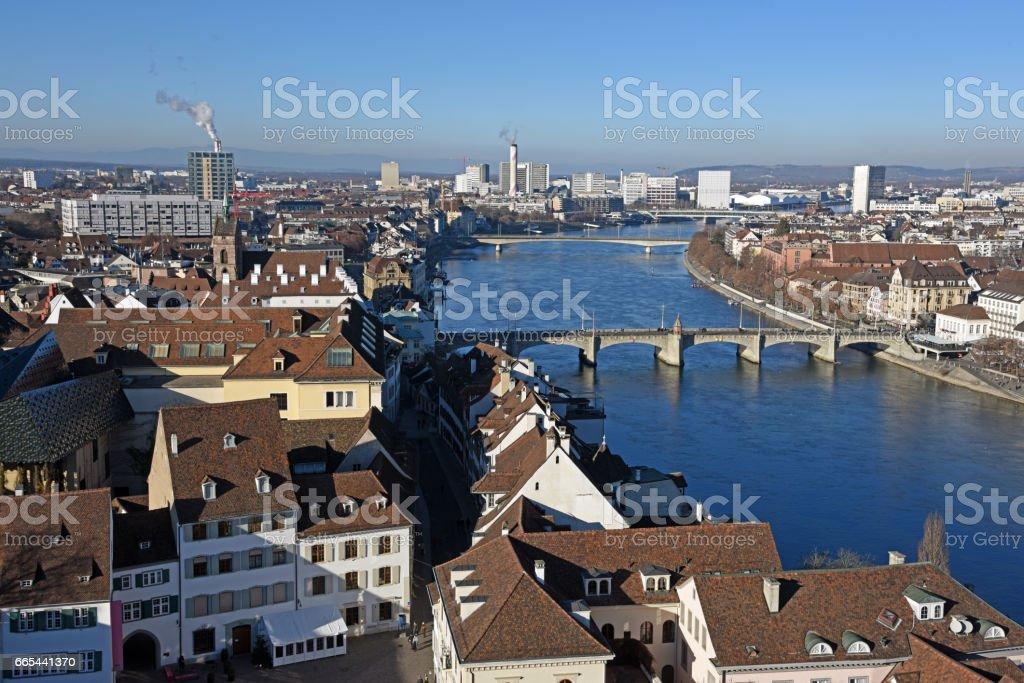 Basel City Panorama – Foto