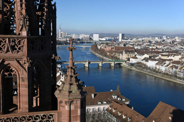 Basel Stadt-Panorama – Foto