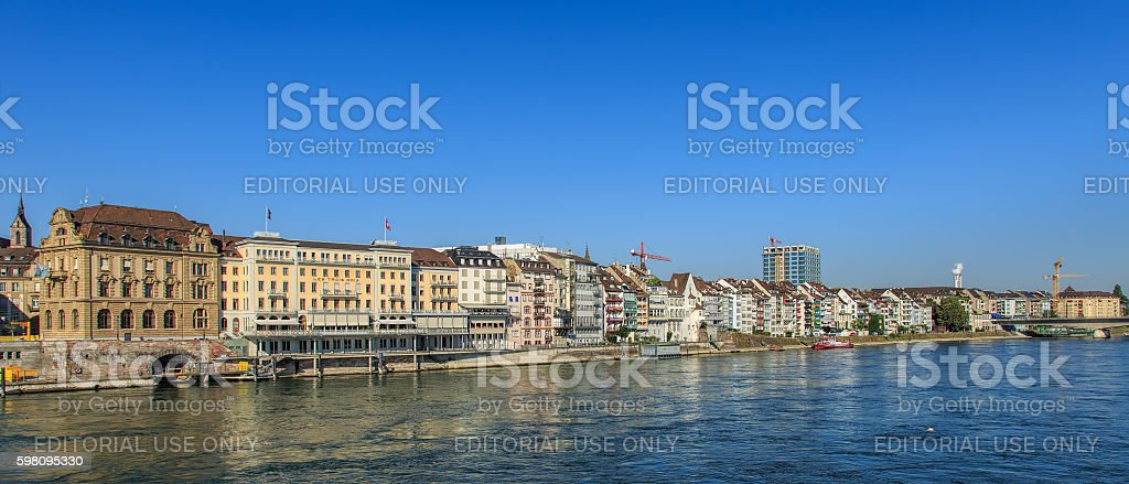 Basel city skyline – Foto