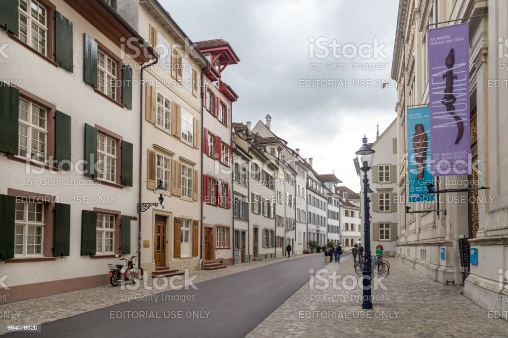 Basel Historic City Centre - Royalty-free Architecture Stock Photo