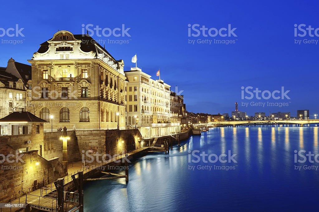 Basel in Switzerland stock photo