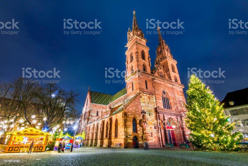 Basel Christmas Market.Basel Switzerland Christmas Market Stock Photo Download