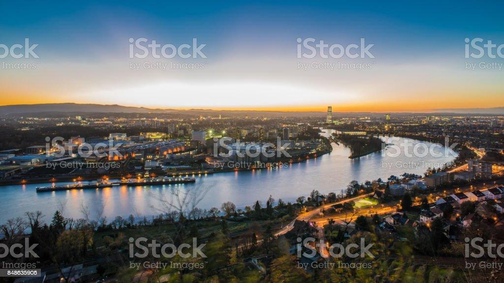 Basel Schweiz Stadtbild – Foto