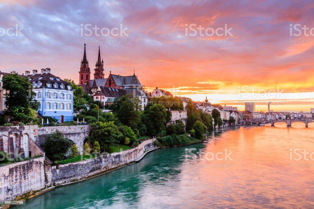 Basel, Switzerland. stock photo
