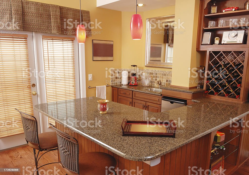 Basement Bar royalty-free stock photo