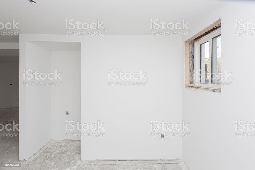 basement construction royalty-free stock photo