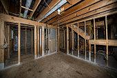 basement home remodeling demolition