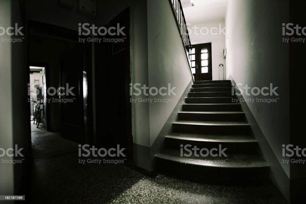 Basement stock photo