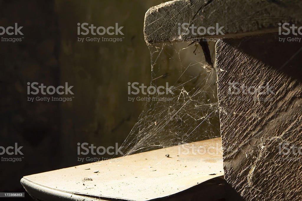basement stairs stock photo