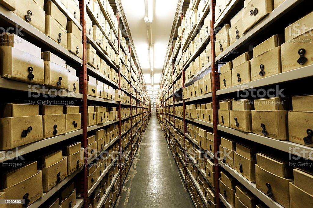 Basement storage. royalty-free stock photo