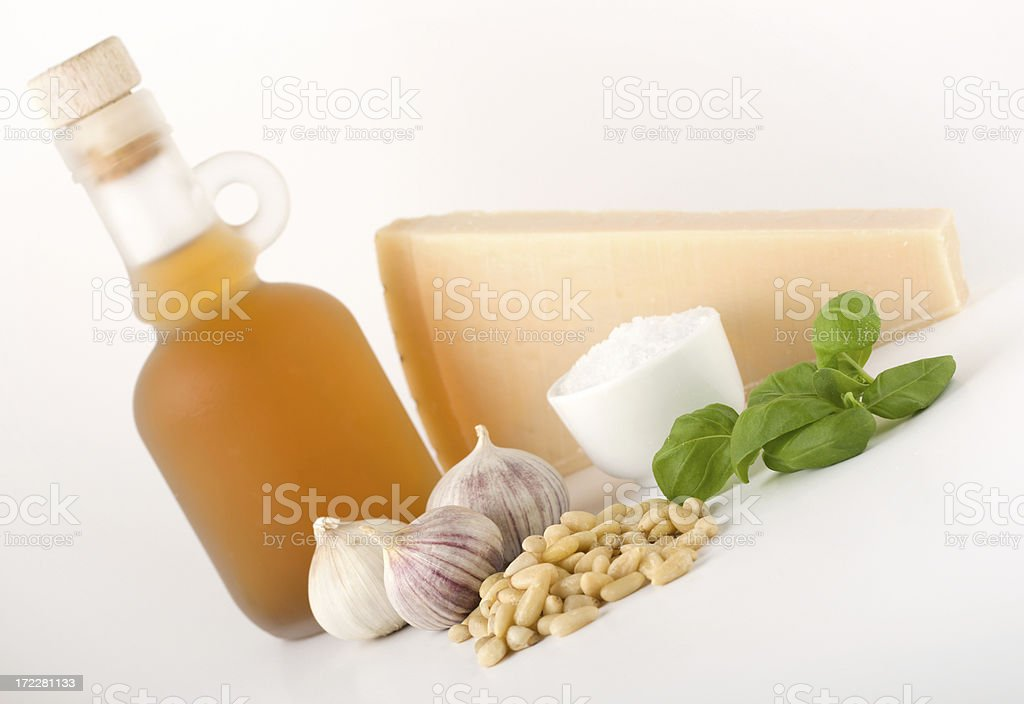 Basic basil pesto royalty-free stock photo