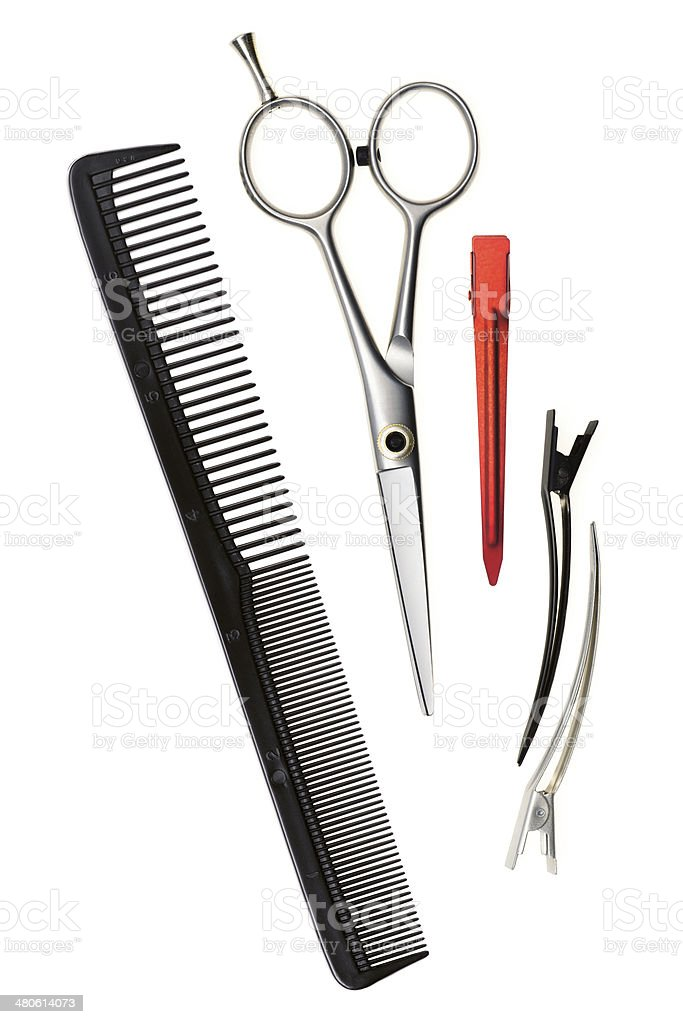 basic hair cutting tools stock photo 480614073 | istock