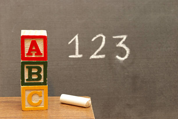 basic learning - alphabetical order stock pictures, royalty-free photos & images