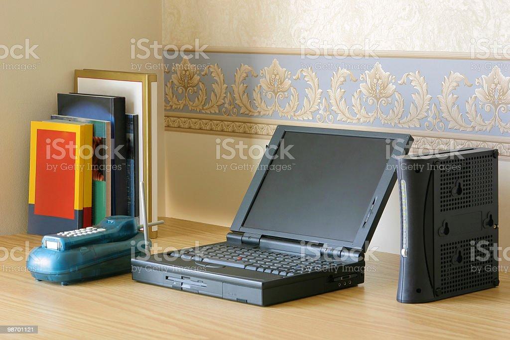 Basic modern office equpiment royalty-free stock photo