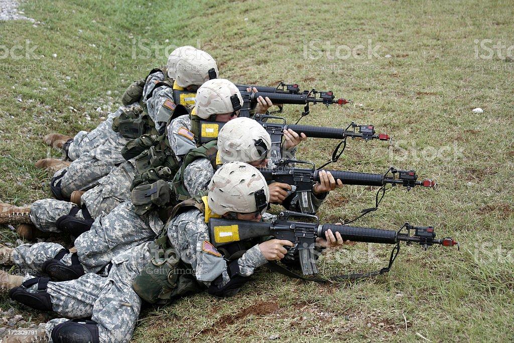 Basic Training royalty-free stock photo