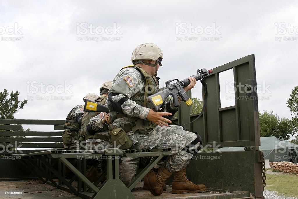 Basic Training royalty-free stock photo