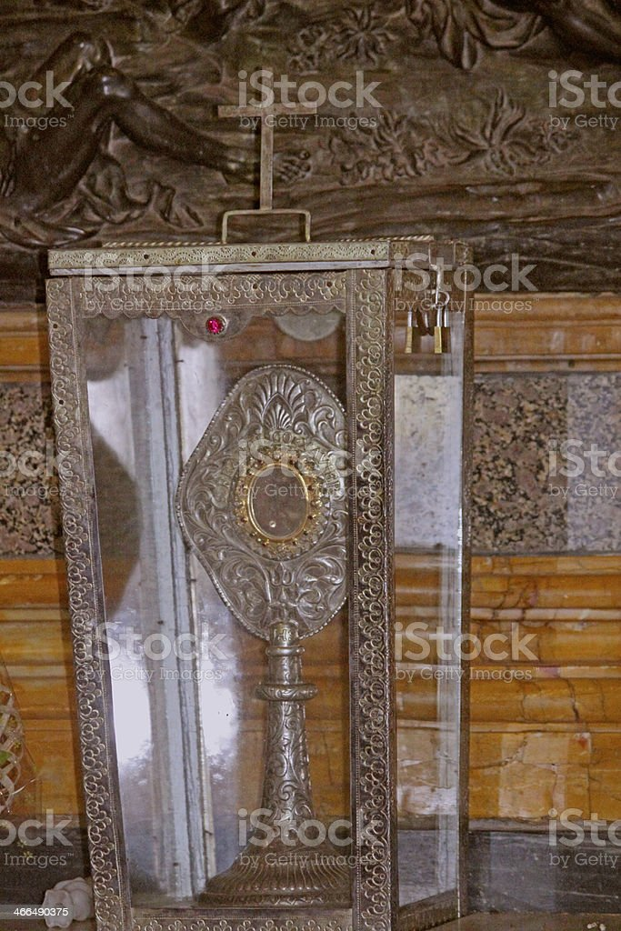 Basilica Bom Jesus (b.1605) holds Tomb of St. Fra royalty-free stock photo