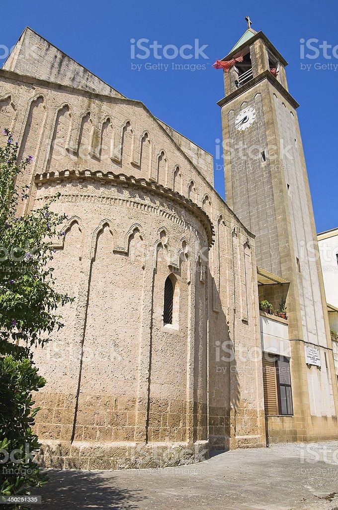 Basilica Church of Carmine. Mesagne. Puglia. Italy. royalty-free stock photo