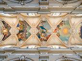 Basilica della Collegiata in Catania, Sicily, southern Italy.