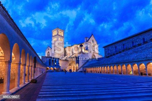 istock Basilica di San Francesco, Assisi 466329607