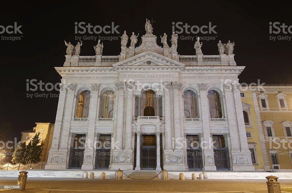 Basilica di San Giovanni in Laterano. Rome. royalty-free stock photo