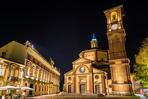 Basilica di San Magno and Palazzo Municipale in Legnano