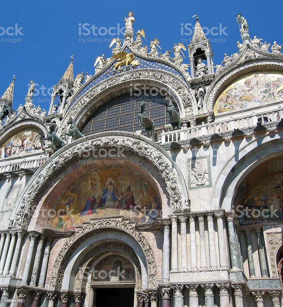 Basilica di San Marco stock photo