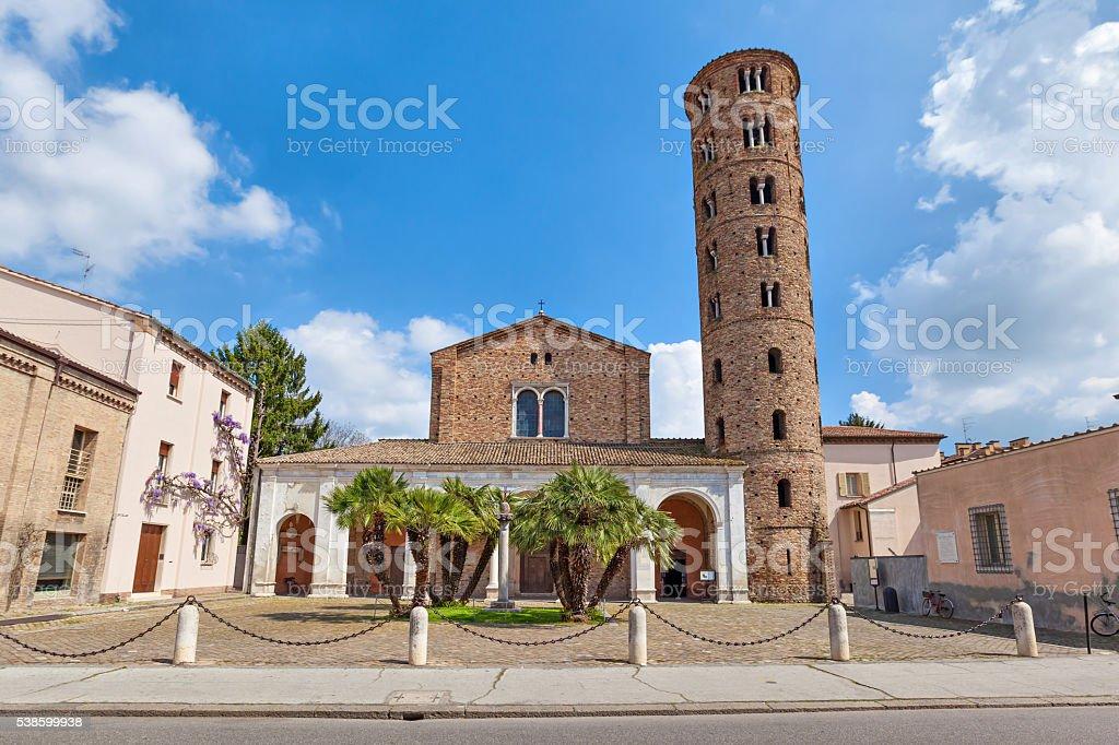 Basilica di Sant Apollinare Nuovo, Ravenna stock photo