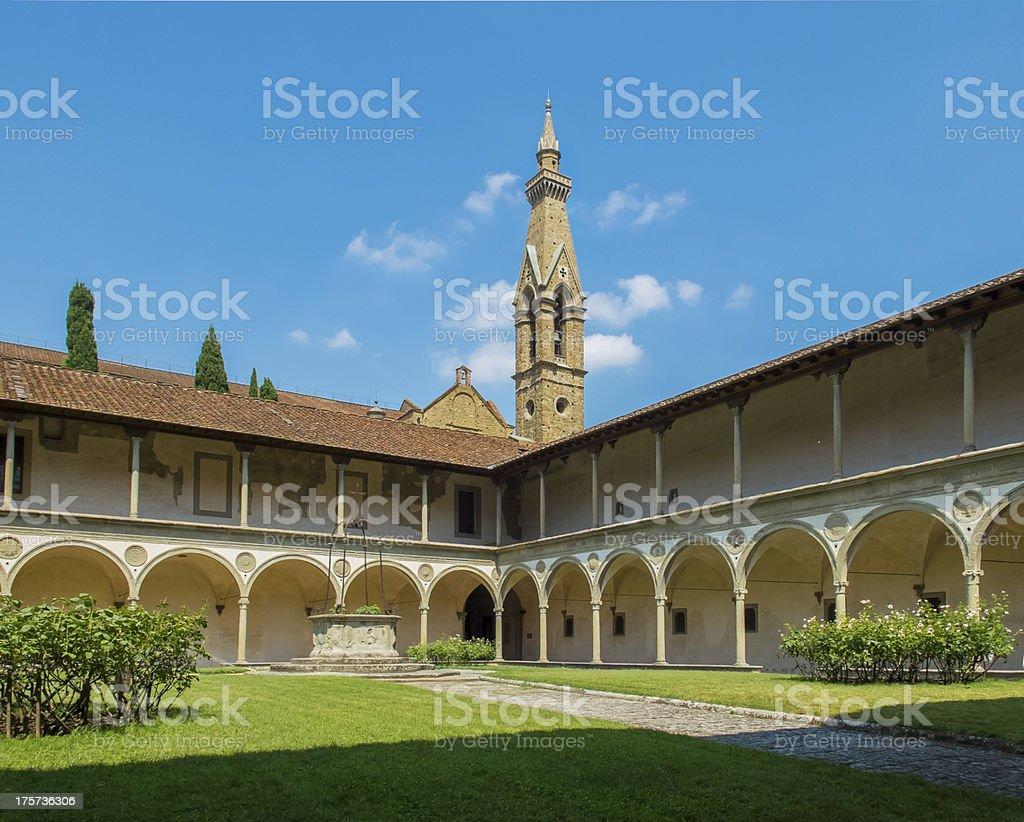 Basilica di Santa Croce. Florence, Italy royalty-free stock photo