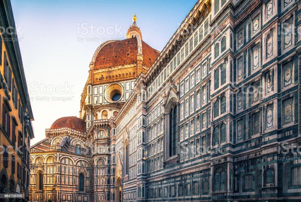 Basilica di Santa Maria del Fiore royalty-free stock photo