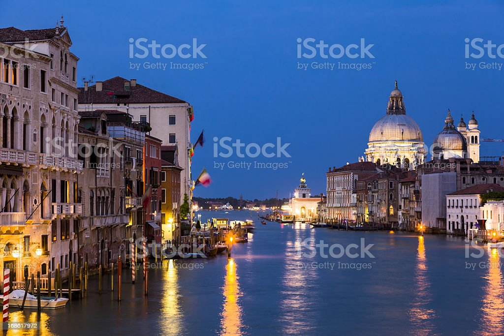 Basilica di Santa Maria della Salut, Venice royalty-free stock photo