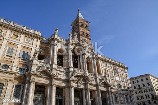 istock Basilica di Santa Maria Maggiore in the morning, Rome, Italy 979006294