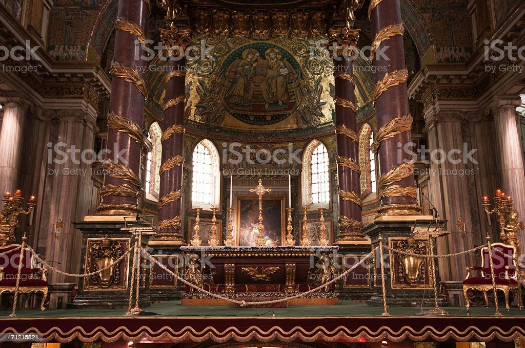 Basilica di Santa Maria Maggiore royalty-free stock photo