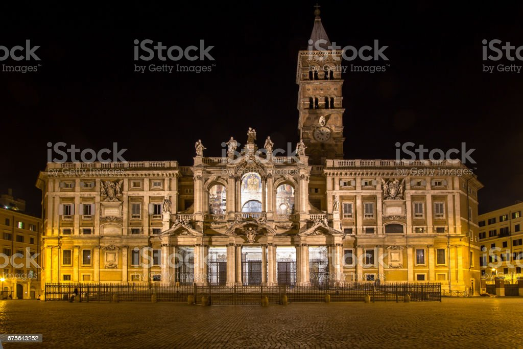 Basilica di Santa Maria Maggiore, Rome, Italy royalty-free stock photo