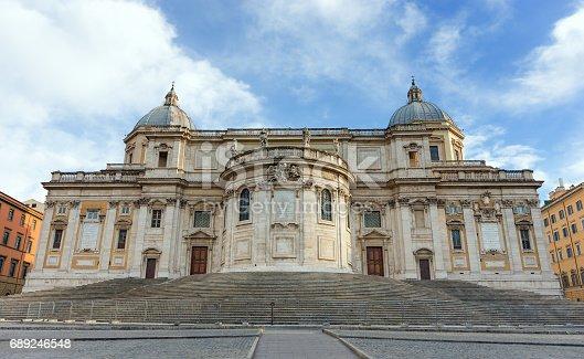 istock Basilica di Santa Maria Maggiore, Rome, Italy 689246548