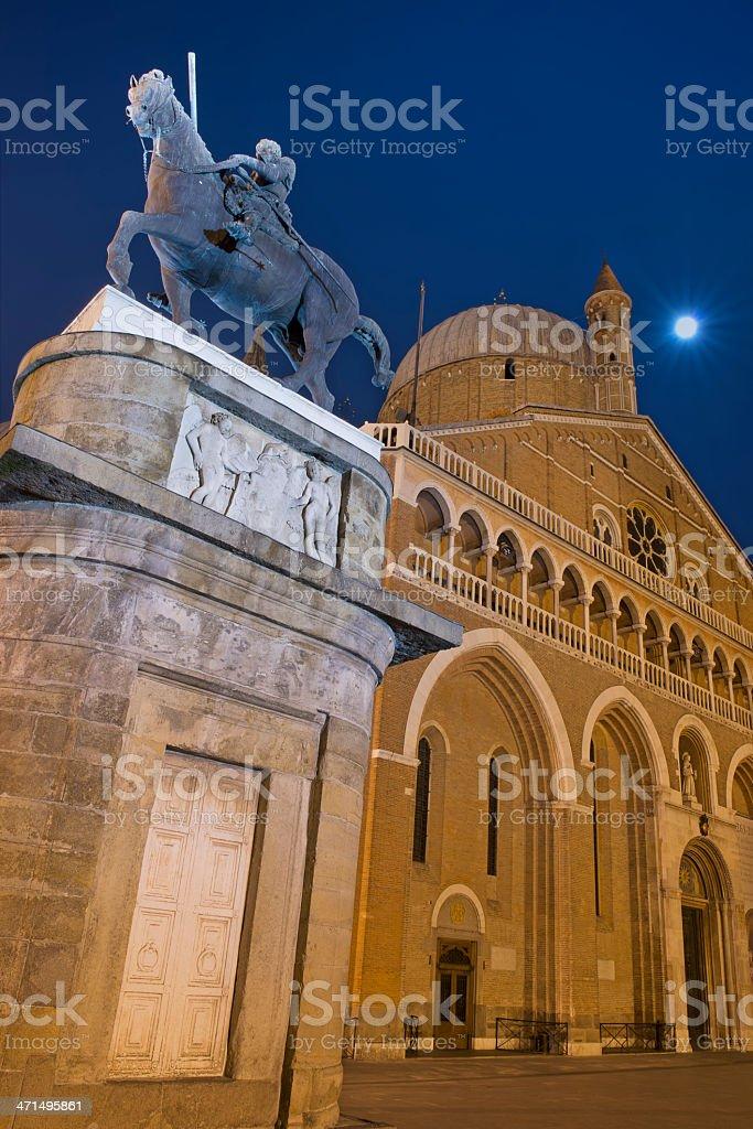 Basilica di Sant'Antonio (Padova) royalty-free stock photo