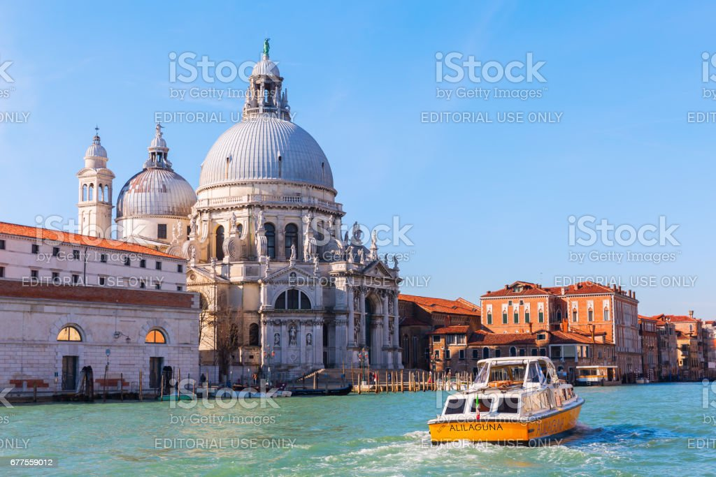 Basilica die Santa Maria della Salute in Venice, Italy royalty-free stock photo