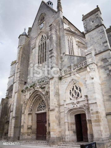 istock Basilica in Clery-Saint-Andre, France 462434711