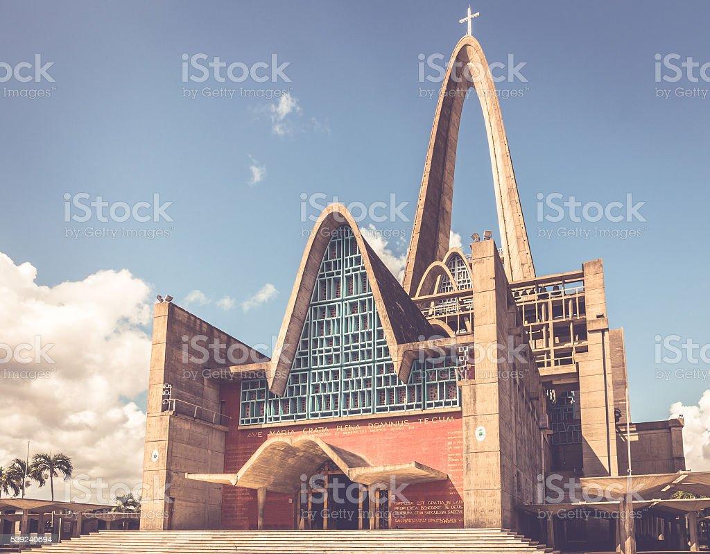 Basílica la Altagracia en República Dominicana  foto de stock libre de derechos