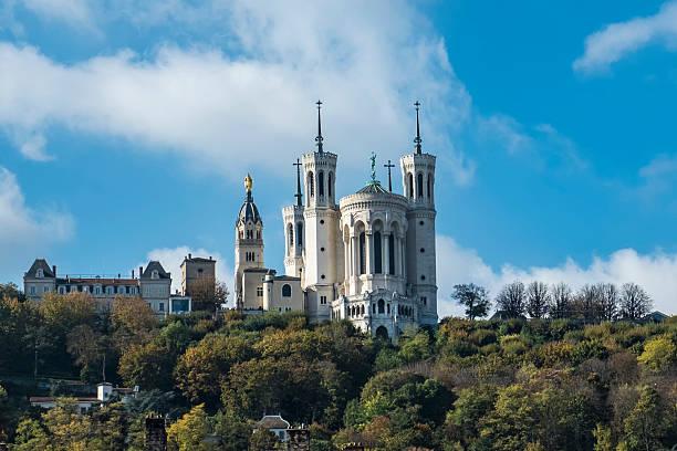Basilica notre Dame de Fourviere directions Lyon, France - Photo