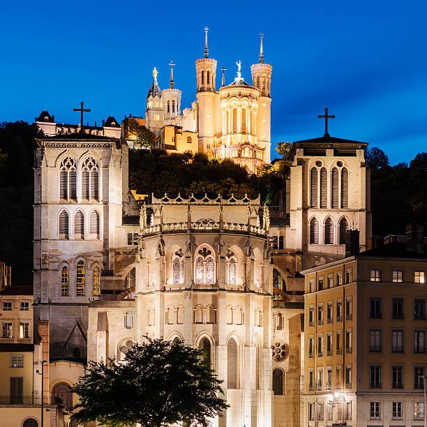 Basilica Notre Dame de fourviere in Lyon - Photo