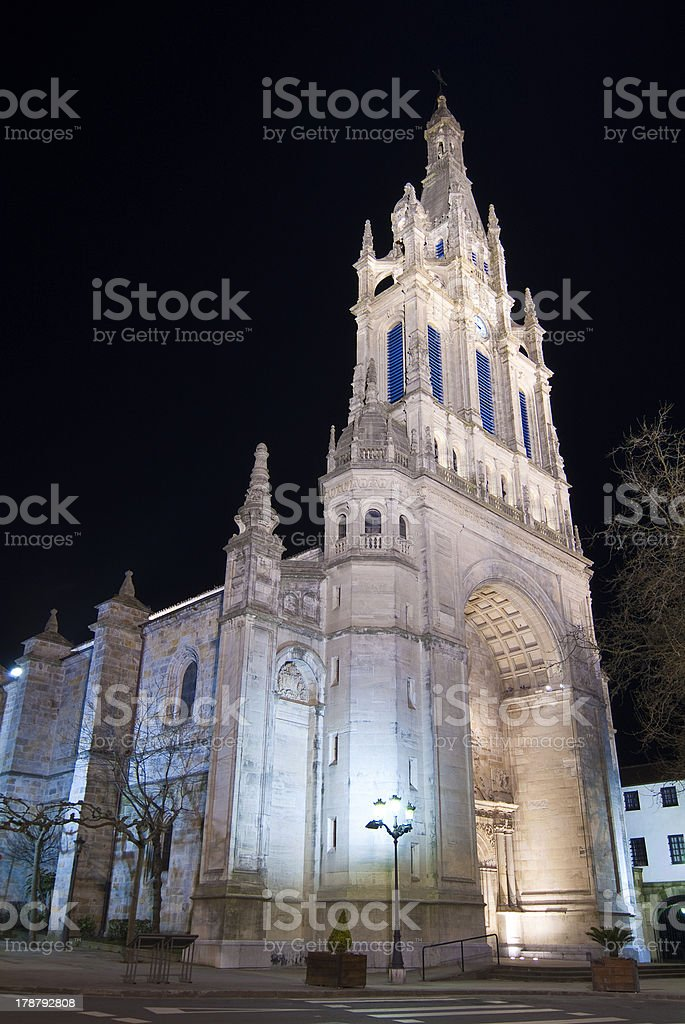Basilica Nuestra Senora De Begona Bilbao Vizcaya Espana Stock Photo