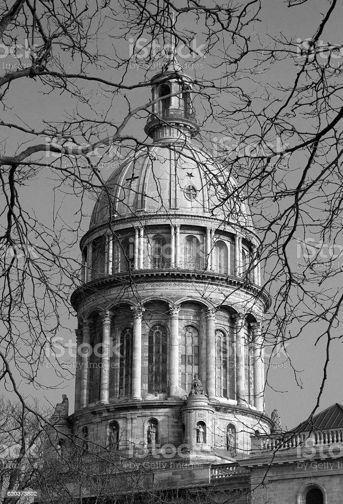 Bazylika Notre-Dame de Boulogne, Boulogne-sur-Mer, Francja zbiór zdjęć royalty-free