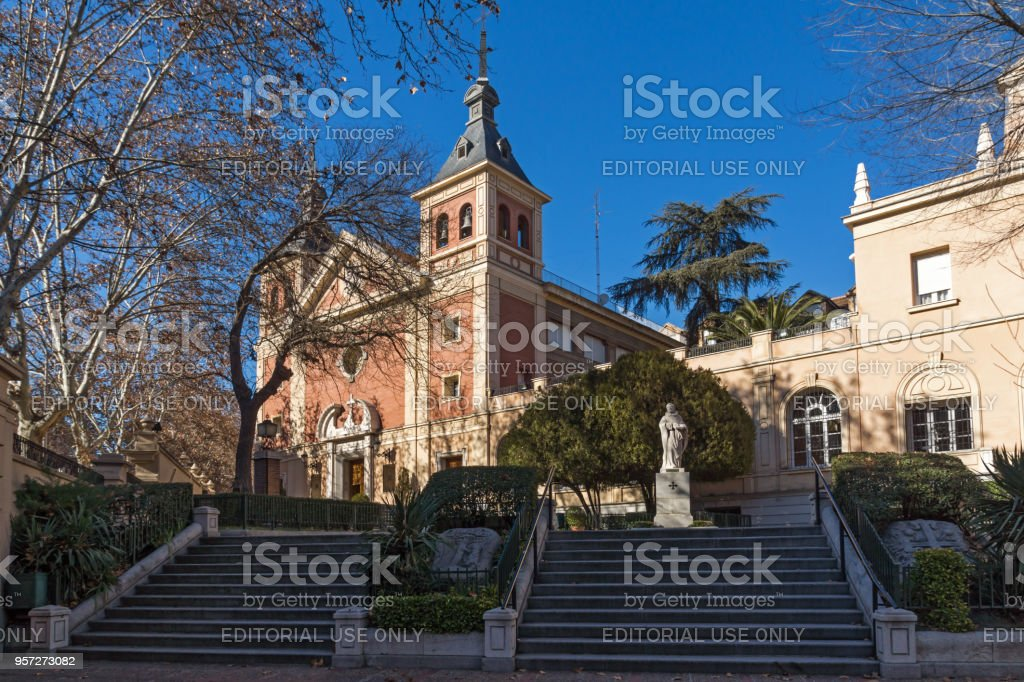 Basilica De Nuestra Senora De Atocha En La Ciudad De Madrid Espana