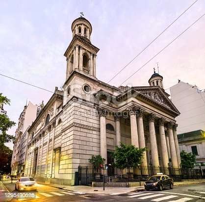 Basilica of Our Lady of Mercy in Buenos Aires, the capital of Argentina