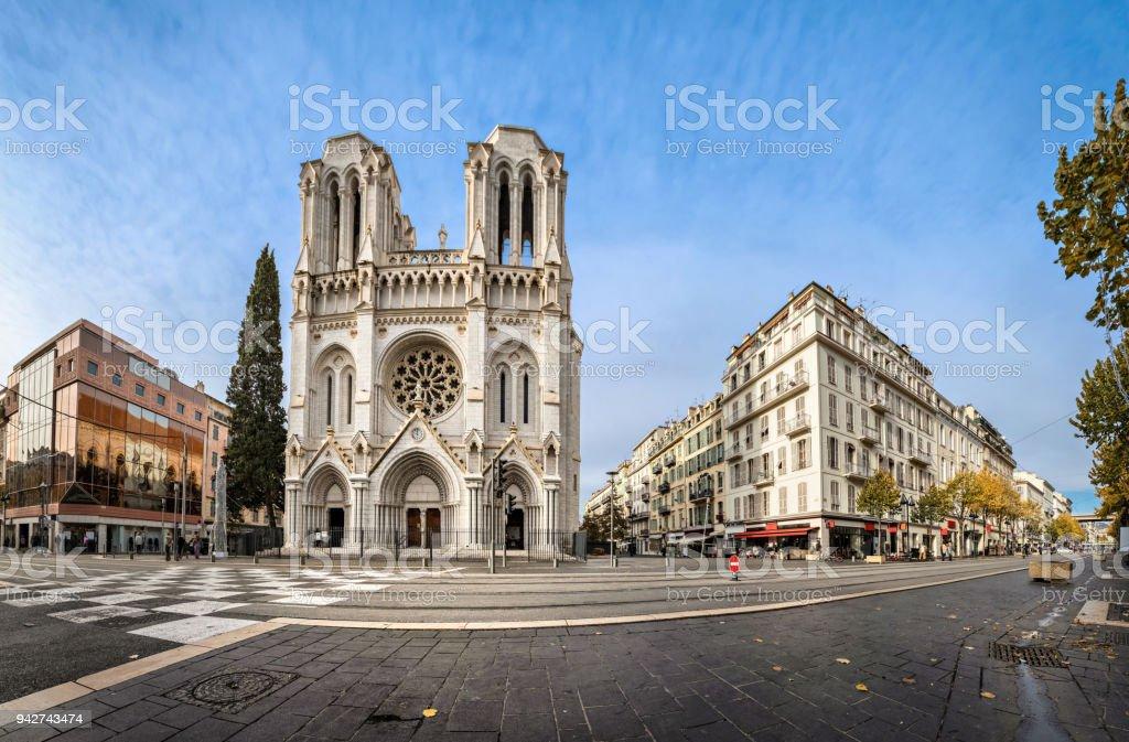 Basilika unserer lieben Frau Mariä Himmelfahrt in Nizza, Frankreich – Foto
